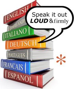 Eri kielisiä kirjoja
