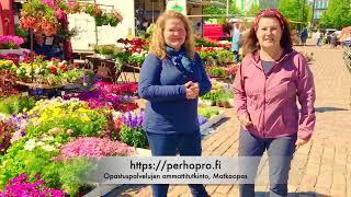 Opaskouluttajat Sari ja Maarit_video