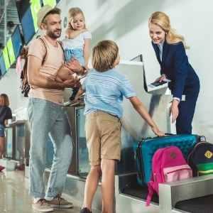 Travel assistant lentokentällä